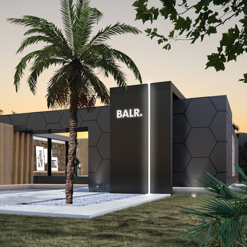BALR. House Front View