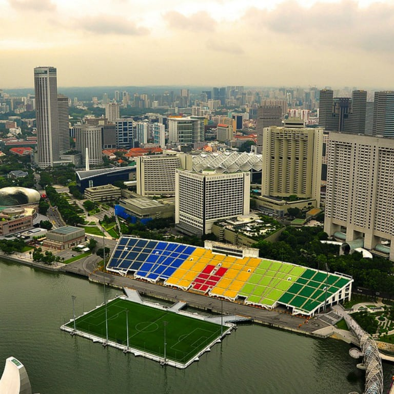 The 5 most amazing football pitches in the world