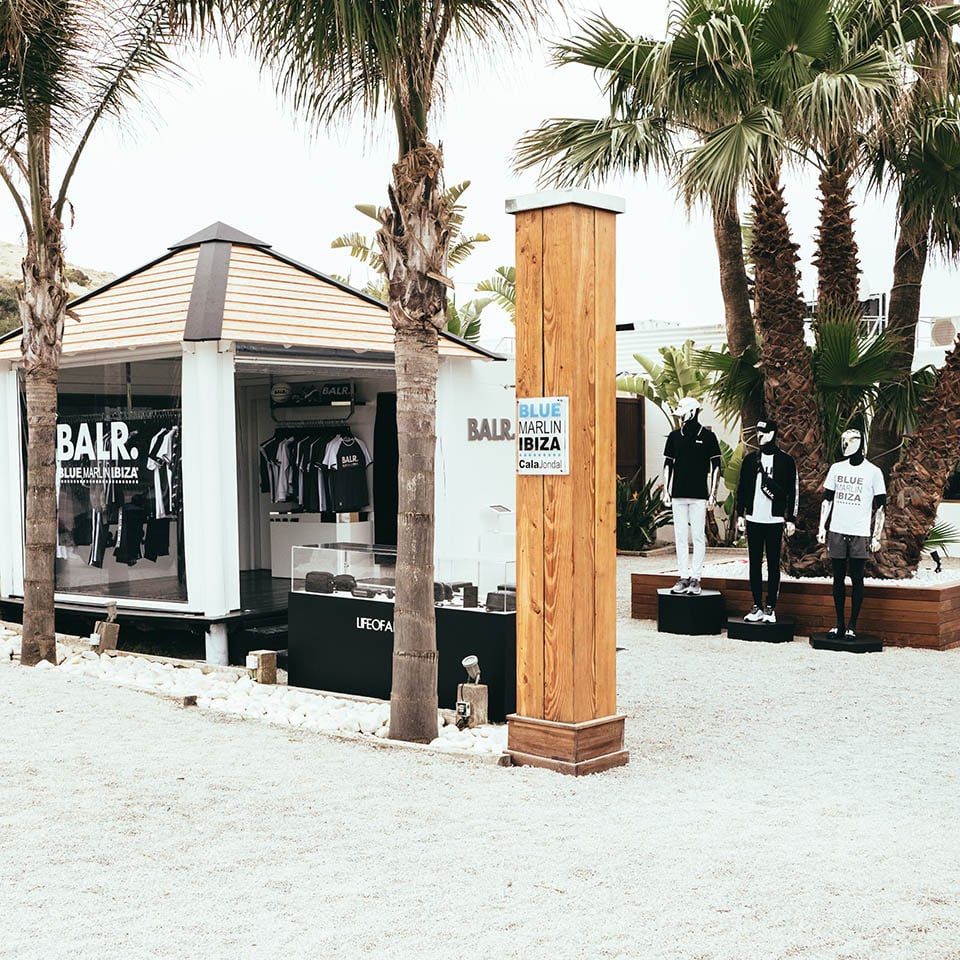 Blue Marlin Ibiza Beach Club BALR. Opening Summer 2018
