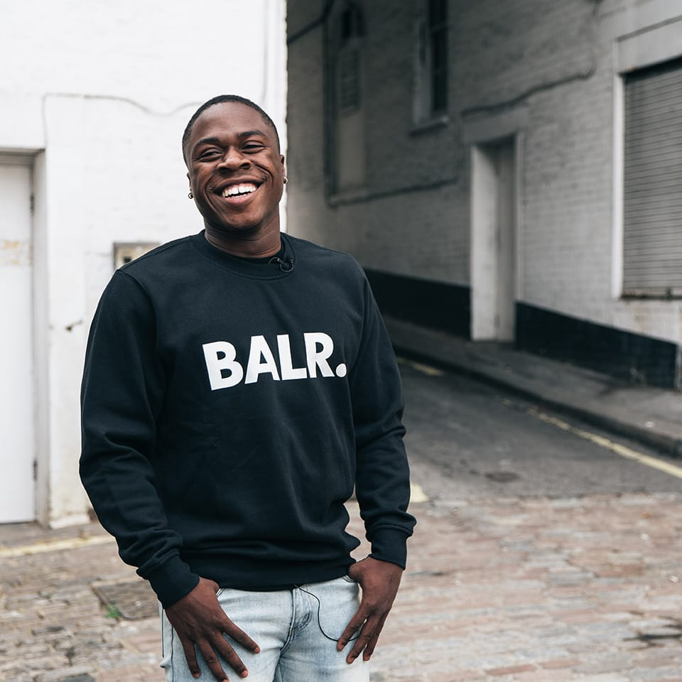 Obafemi interviewed by BALR.