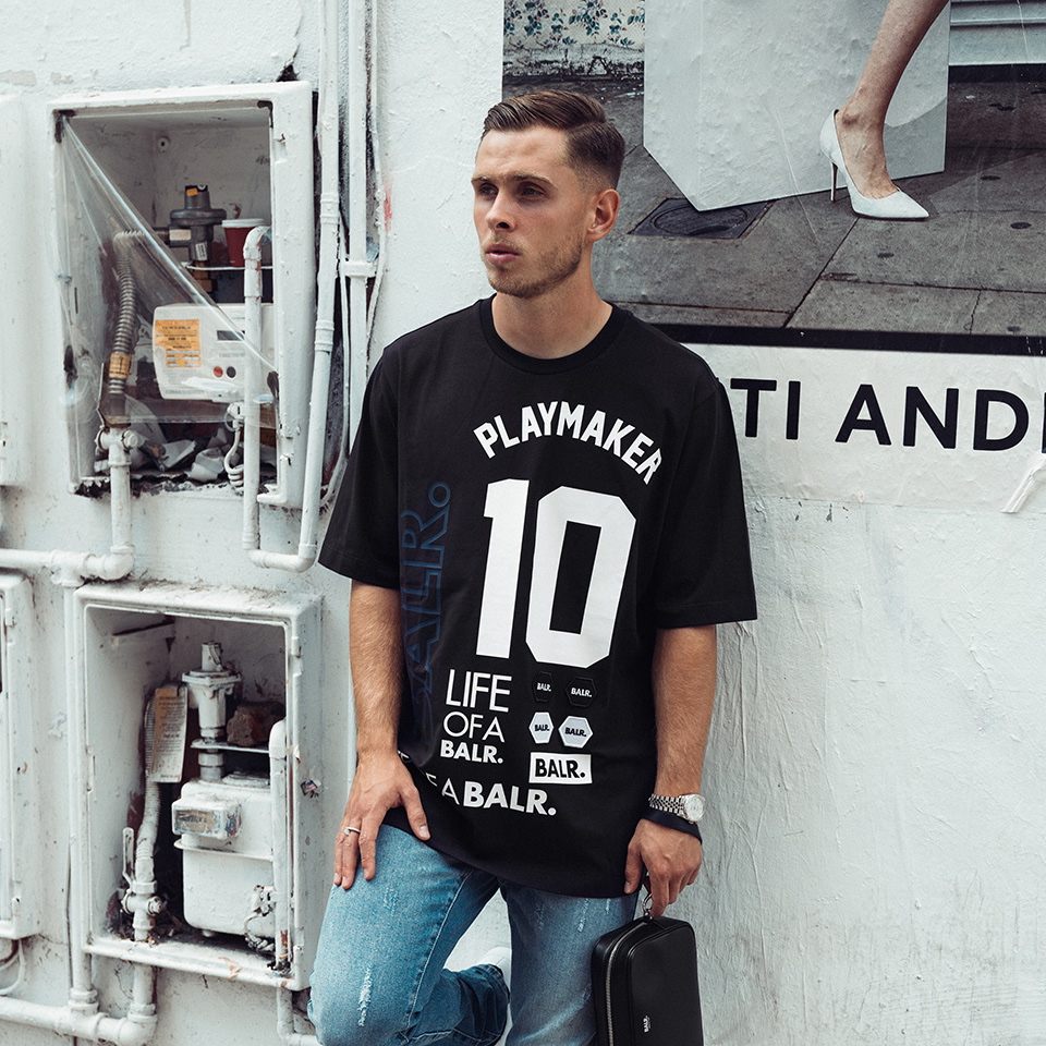 Chelsea Player Charlie Colkett Shoot For BALR.