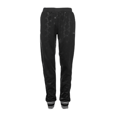 LIFEOFABALR. Hexagon Sweatpants Black