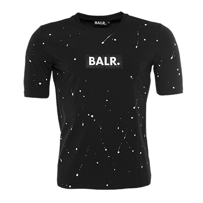 Paint Splatter T-Shirt Black