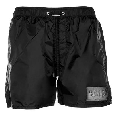 Silver Club Swim Shorts Black