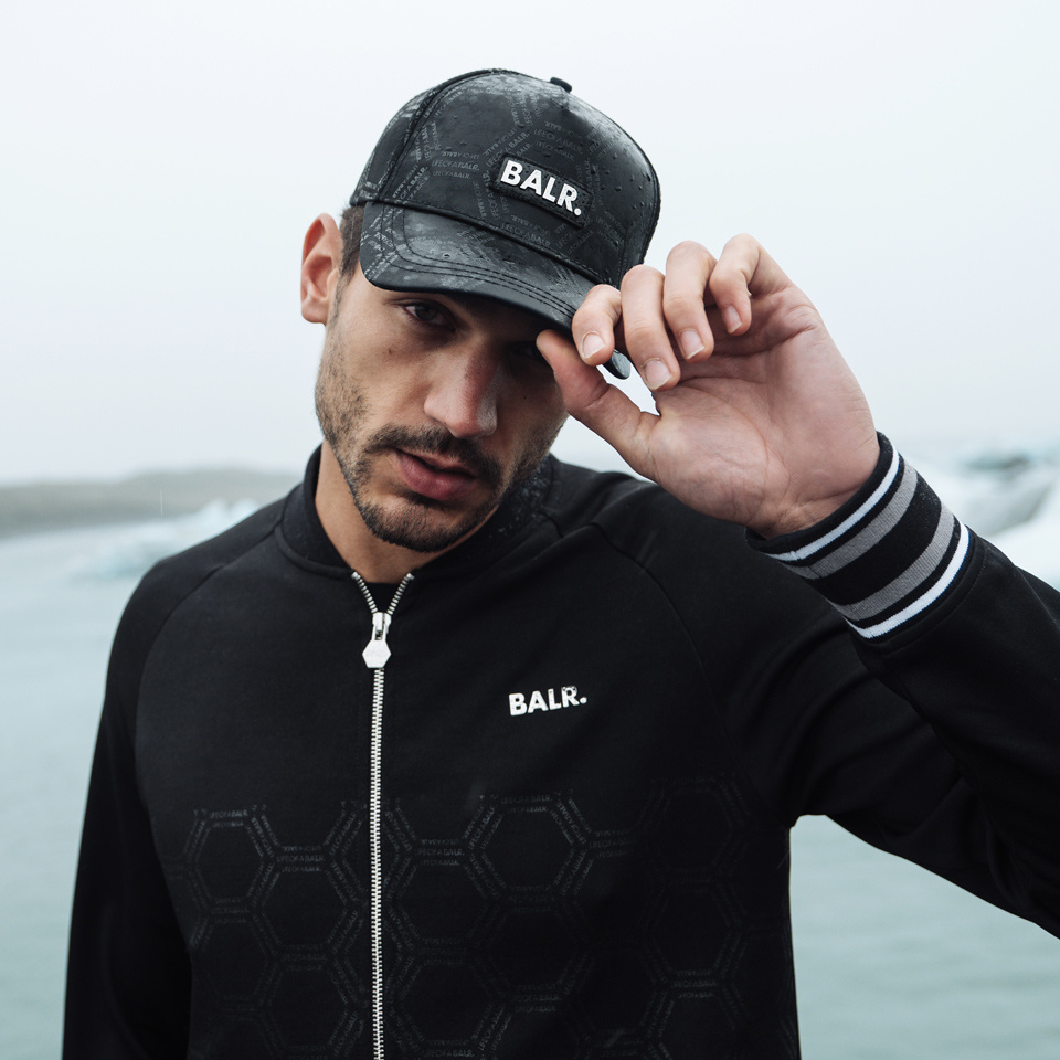 BALR. AW19 Striped Jacket & Cap
