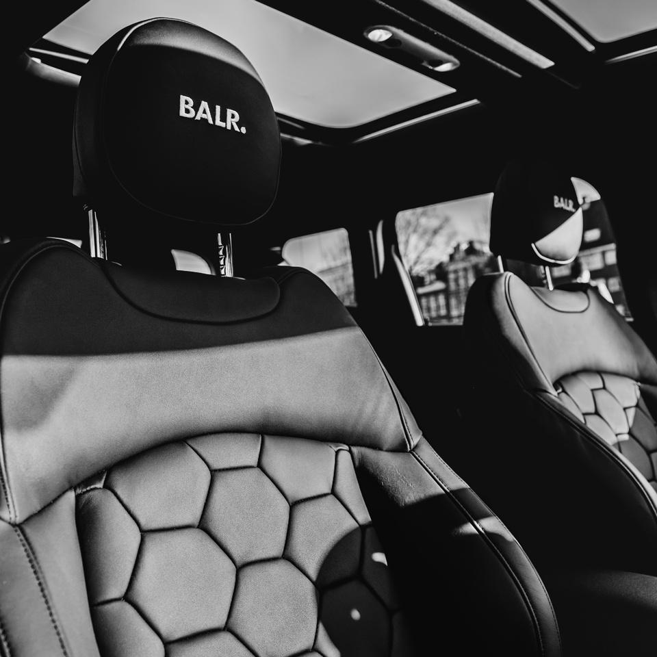 Interior BALR. Mini Cooper S Clubman