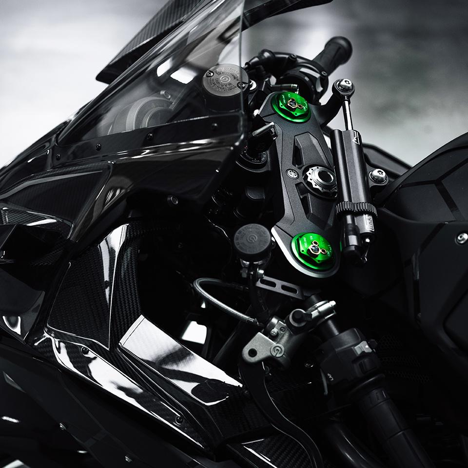 BALR. Kawasaki Ninja Details