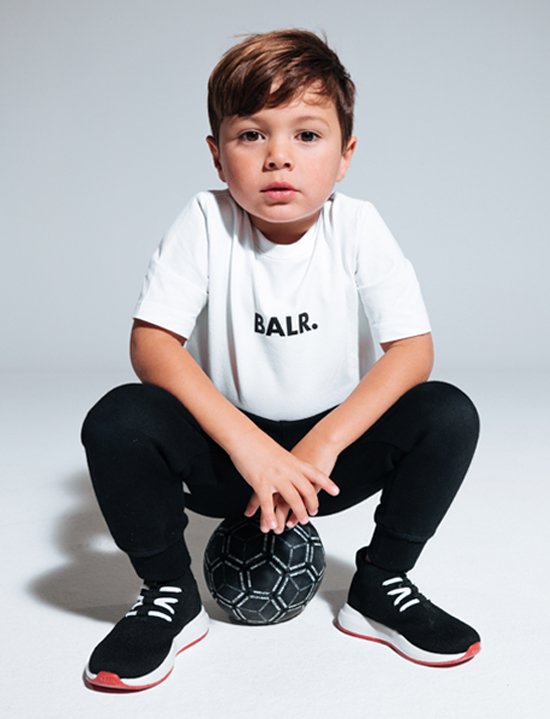 BALR. 10 T-shirt kids wit