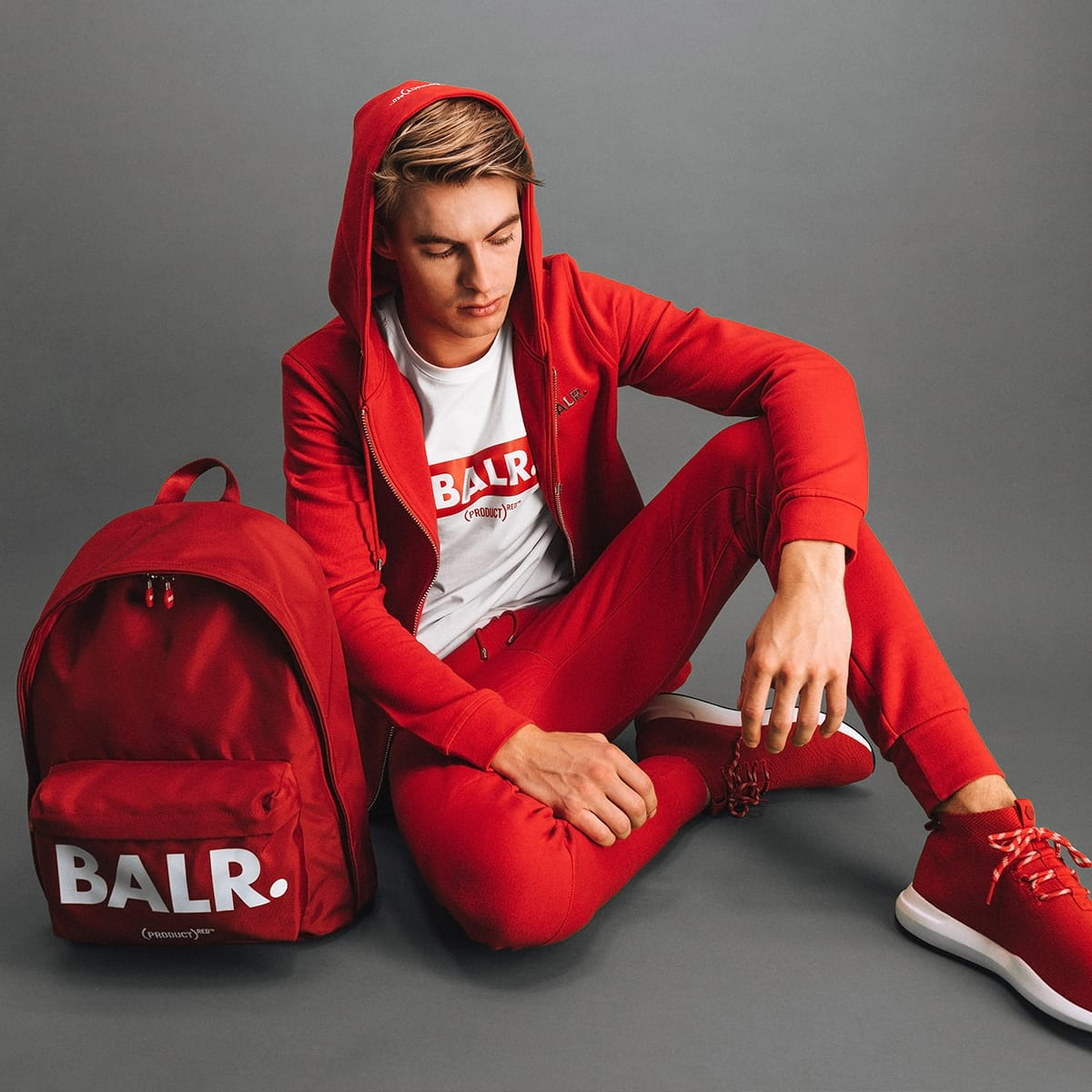 (BALR.)RED Outfit