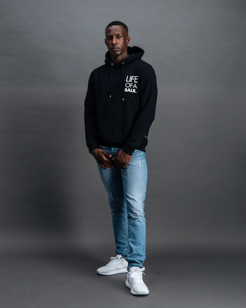 BALR. Life of A BALR. hoodie black Front