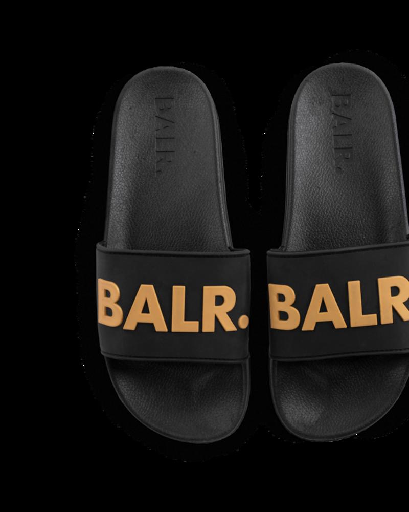 BALR. Slides Black and Gold