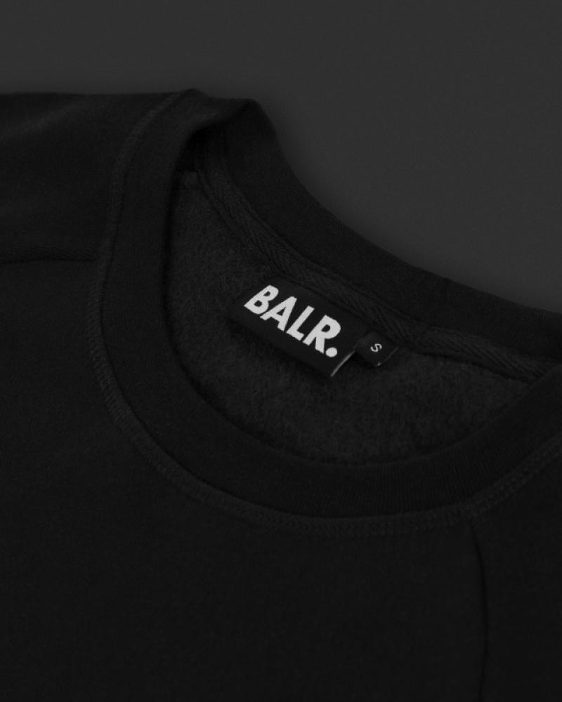Details Crew Neck Sweater Zwart