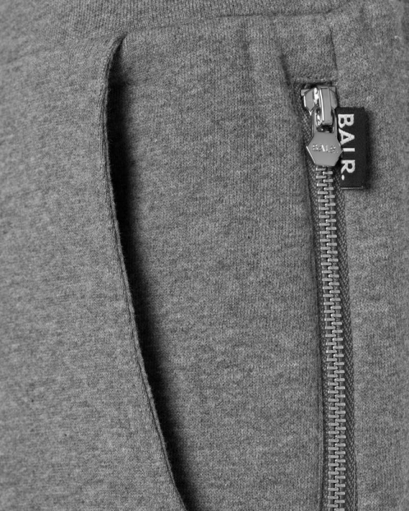 Q-series Classic Sweatpants Grey Detail Zipper