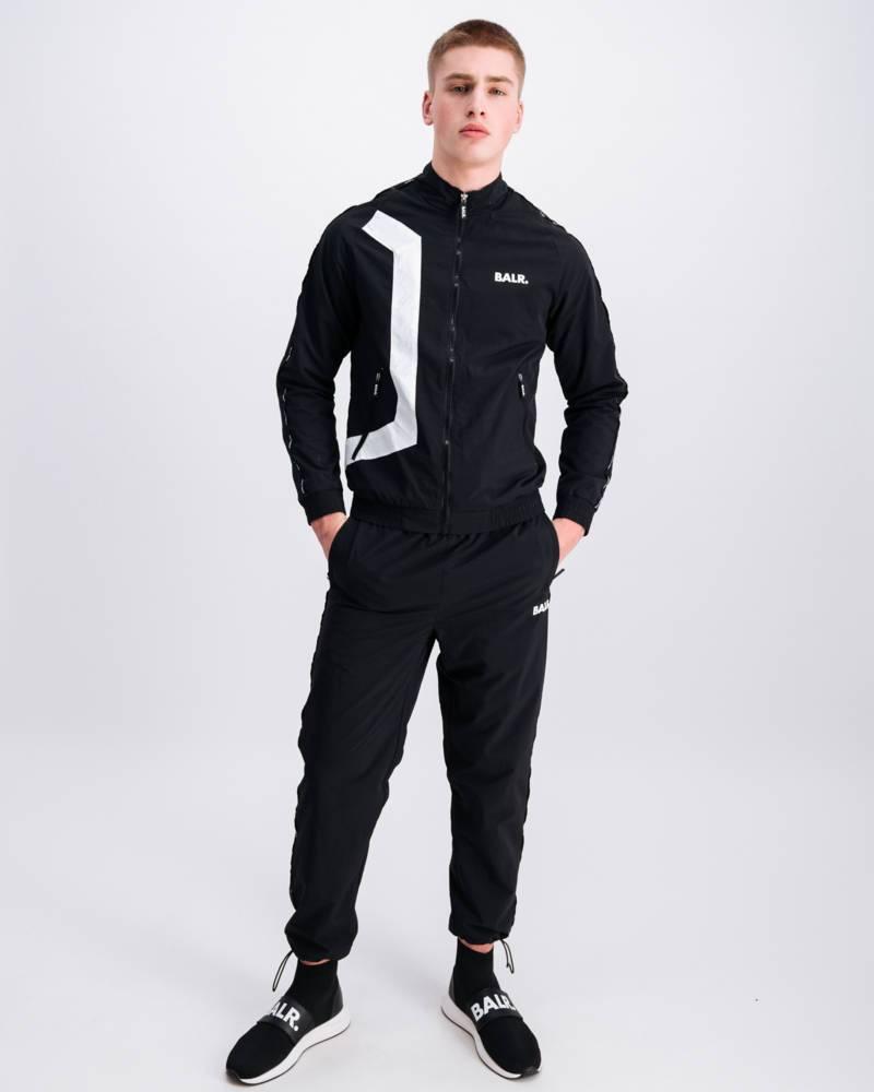 Hexagon track jacket Zwart