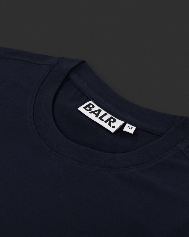 Navy Blue Shirt Detail