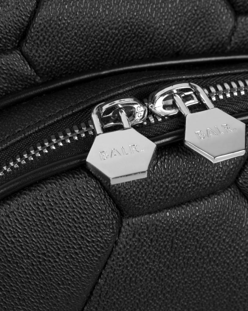 Details Zwarte Backpack
