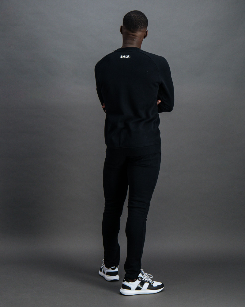 BALR. Embossed Cord Black Back