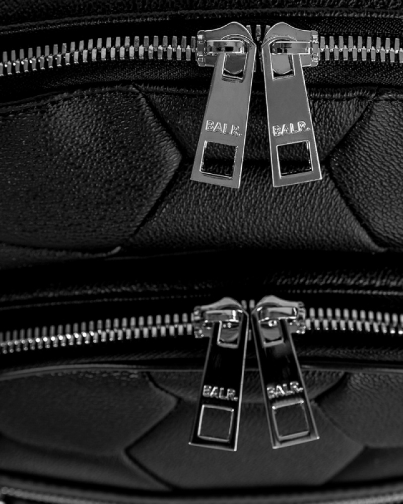 Black Backpack details