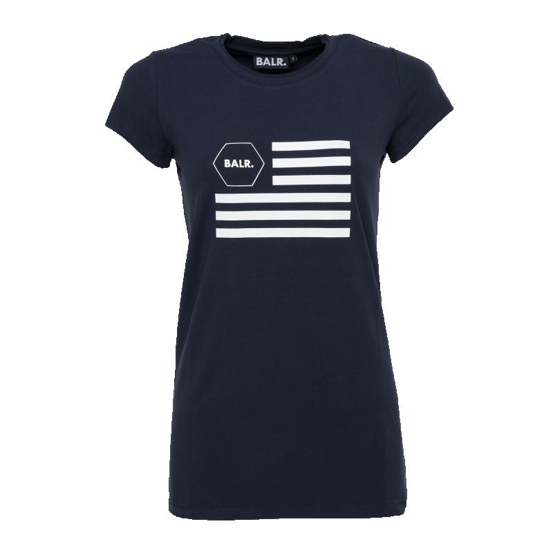 Women USA T-Shirt Navy Blue