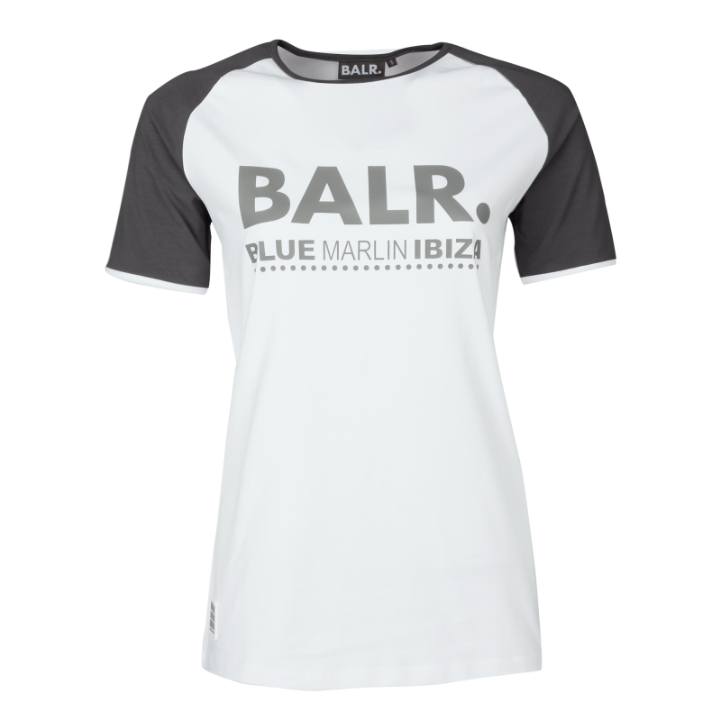 BALR. x BMI Women Raglan Tee White