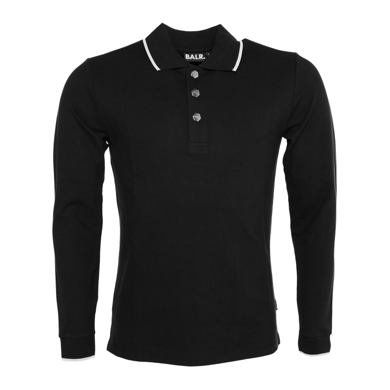 Long Sleeve Polo Front