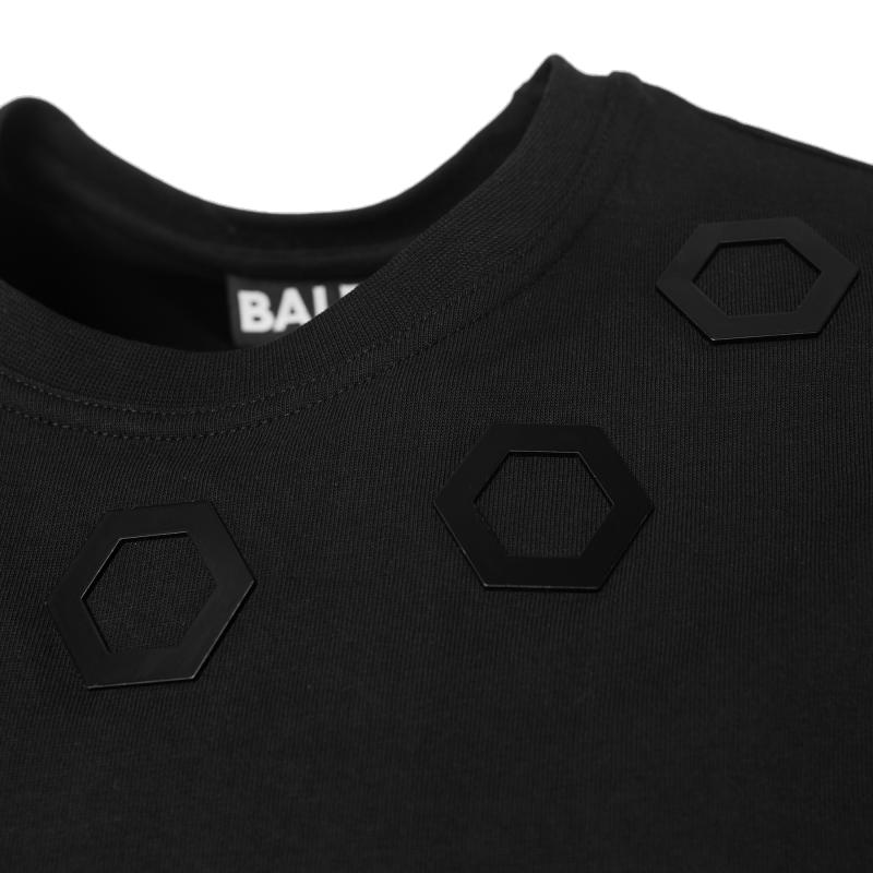 Black Hexagon Shirt Metal