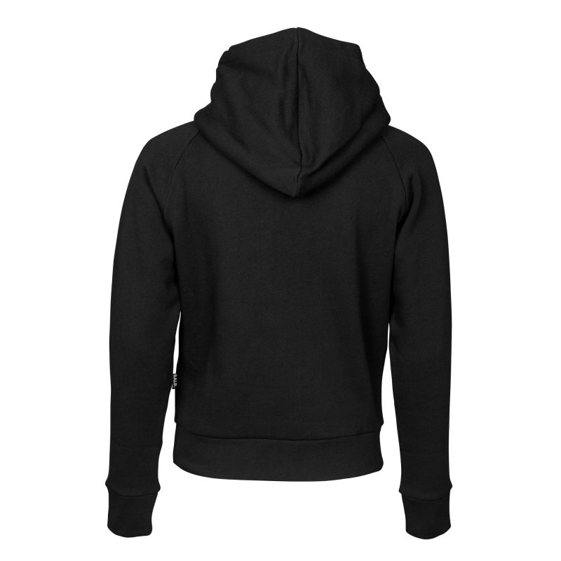 Women Brand Hoodie Black Back