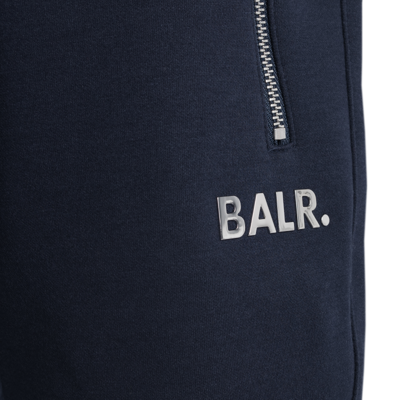 Detail BALR. Q-Series Sweat Shorts Renewed Marineblauw