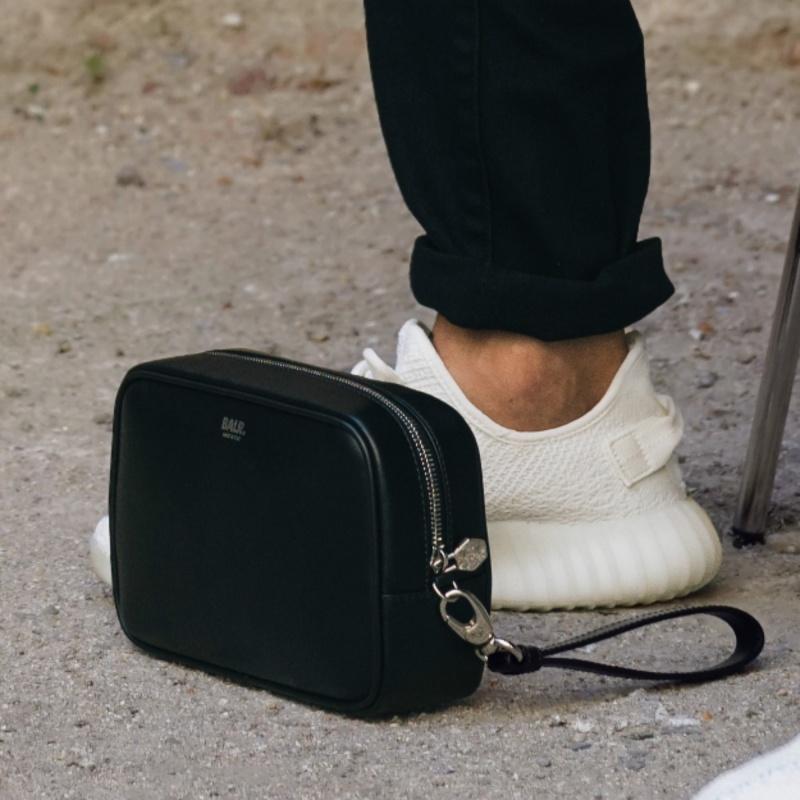 Leather Man Clutch Lifestyle