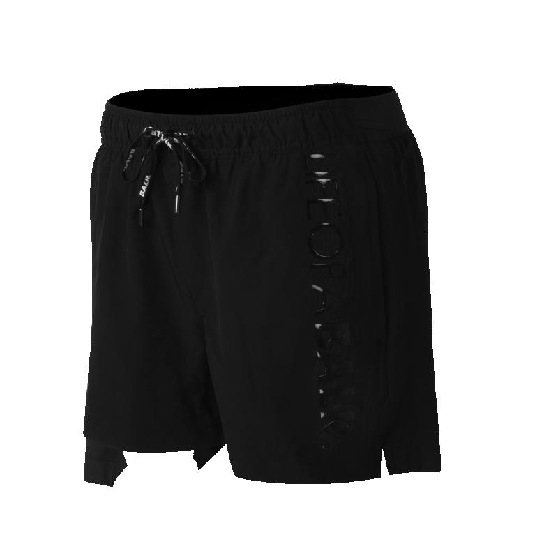 LIFEOFABALR. Swim Shorts Black Detail