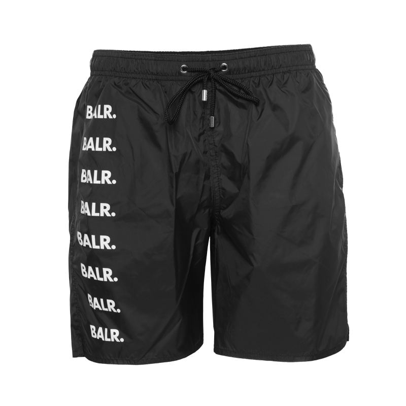 Brand Repeat Swim Shorts Black