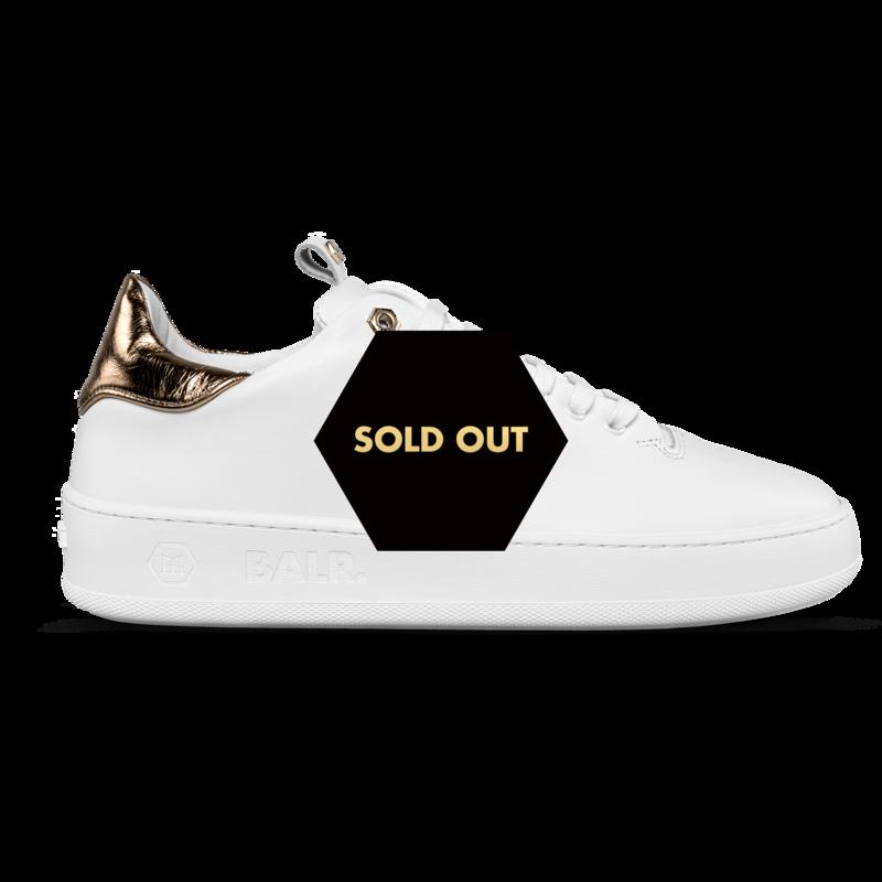 Zijkant BALRxMasonGarments Roma Sneakers Wit