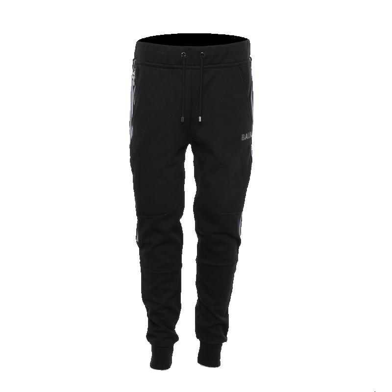 Q-Series Striped Sweatpants Black