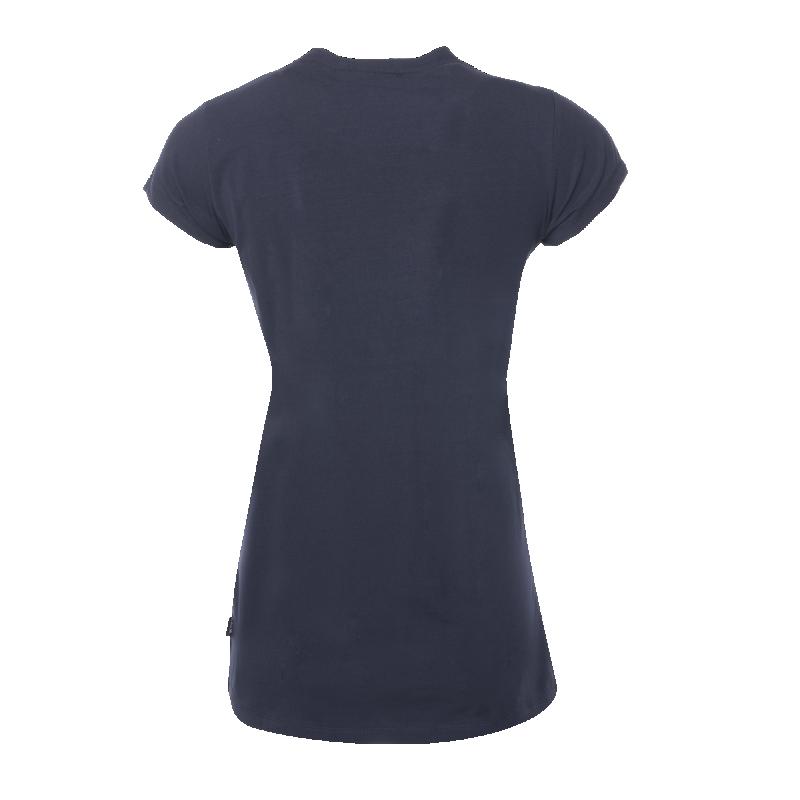 Achterkant BALR. Women Brand T-Shirt Marineblauw