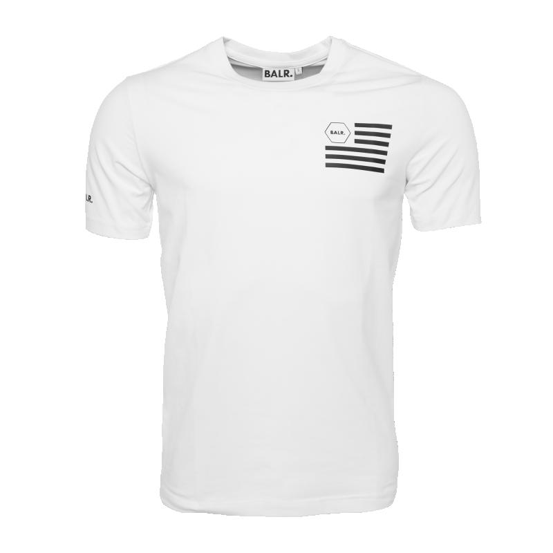 U.S. Of BALR. T-Shirt White