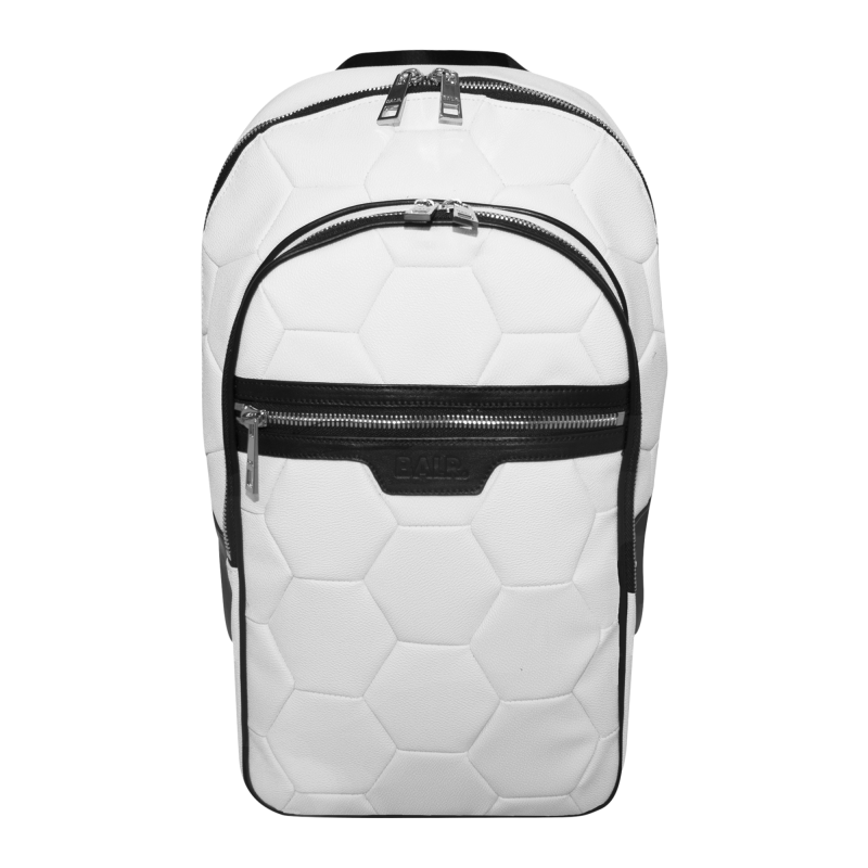 BALR. White Backpack Front