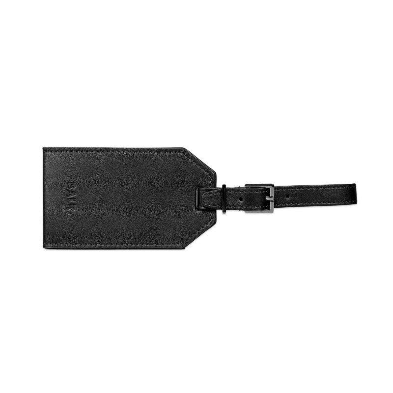 Voorkant Leather Luggage Tag