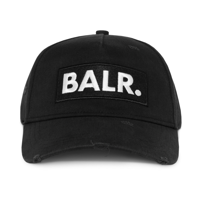 Classic Distressed Cap Black