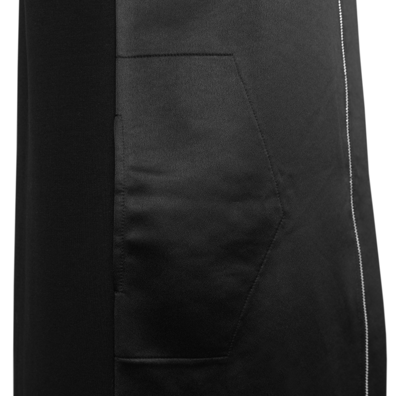 Black Zipped Dress Pocket