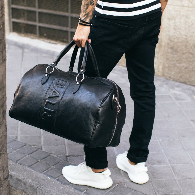 Leather Weekender Lifestyle