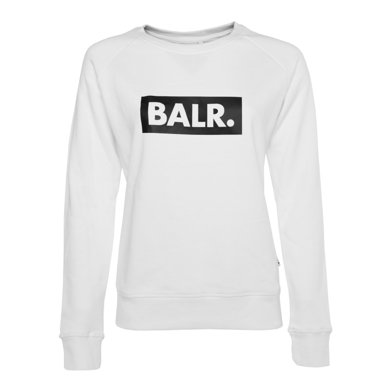 Women Club Crew Neck White