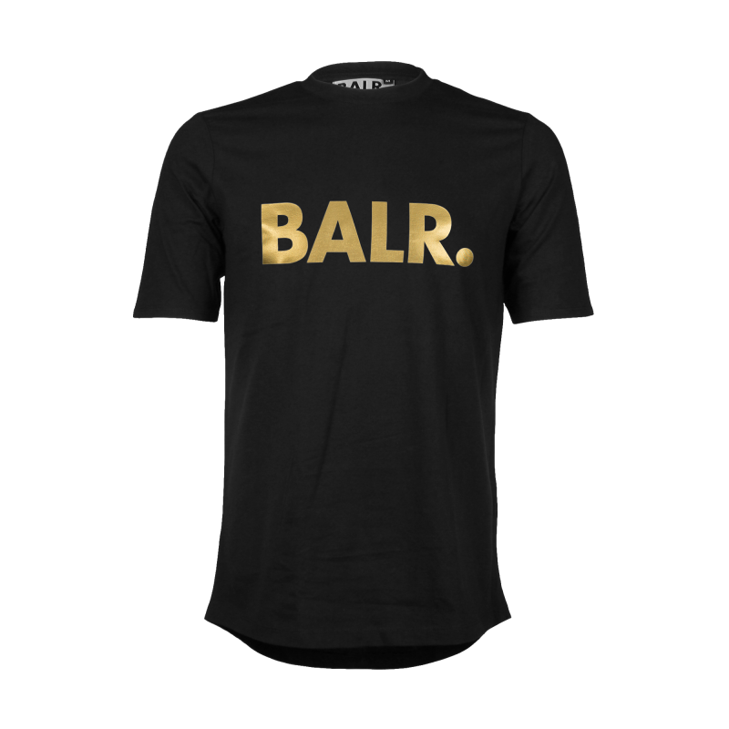 Brand Shirt Black And Gold
