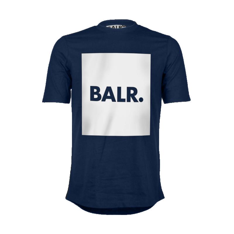 Navy Blue Flag Shirt Front
