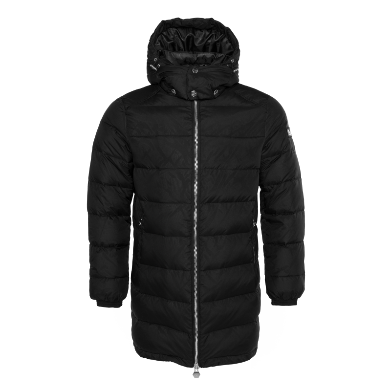 Down Padded Parka Black