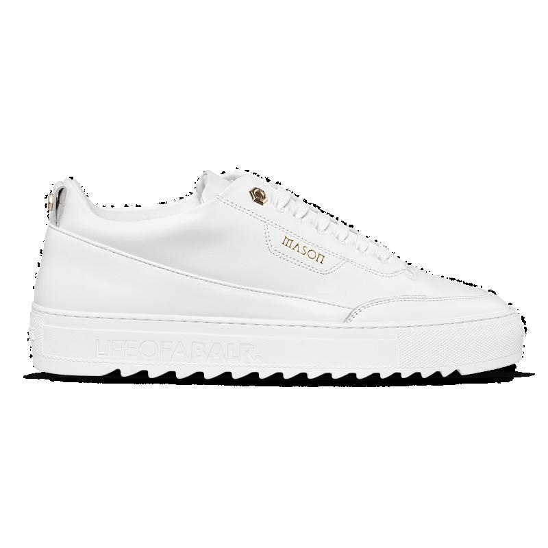 Zijkant BALRxMasonGarments Torino Sneakers Wit