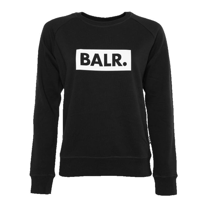 405de2619a59 Women Club Crew Neck Sweater Black