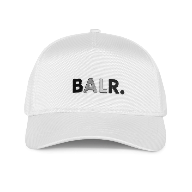 BALR. Classic Oxford Cap White Front