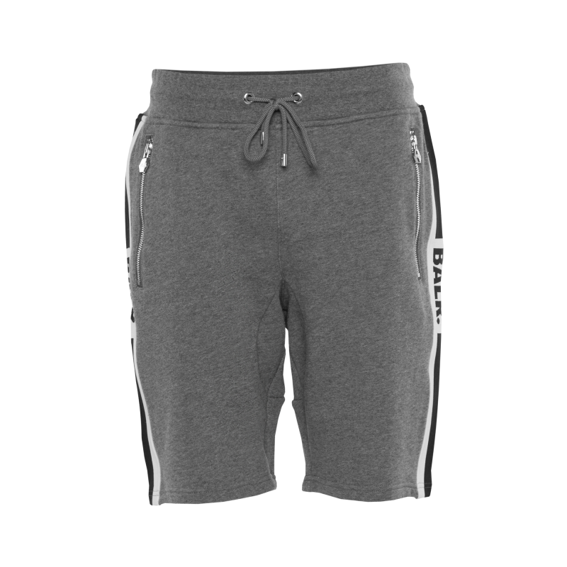 Webbing-Trimmed Shorts Grey