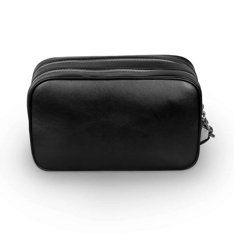 Leather Toiletry Kit Back