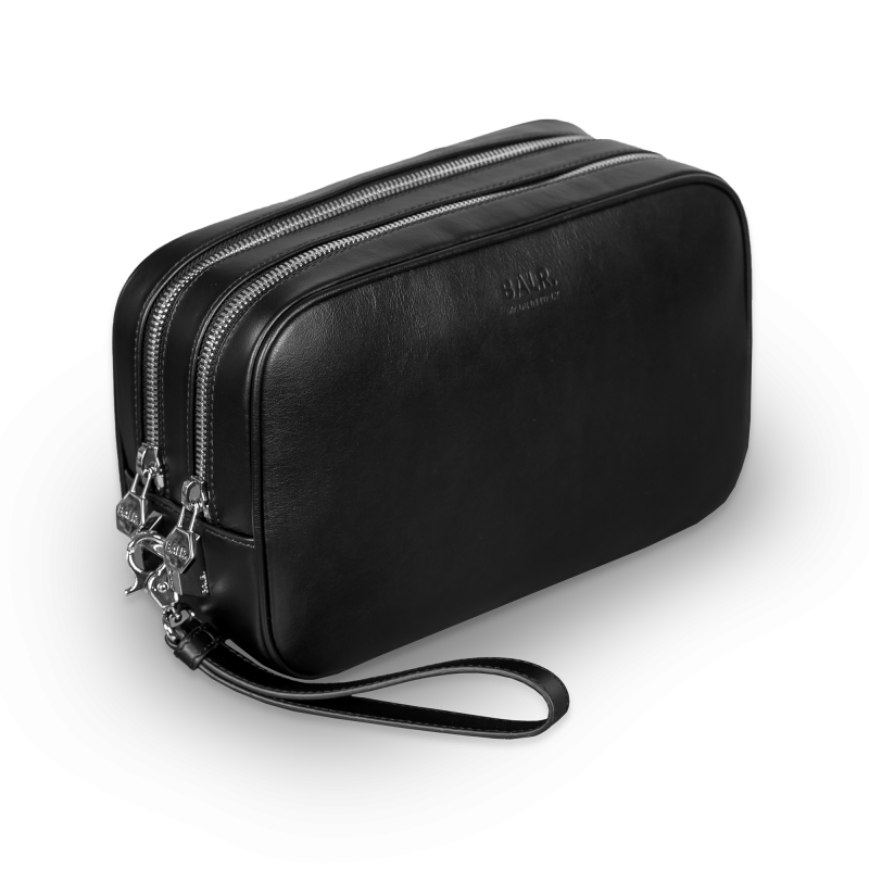 Leather Toiletry Kit Front